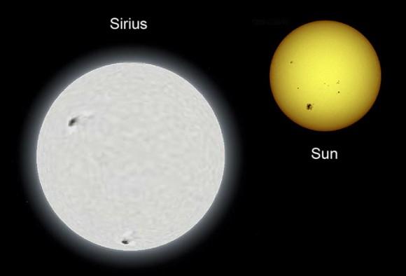 Звезда Сириус - мартовское НЛО